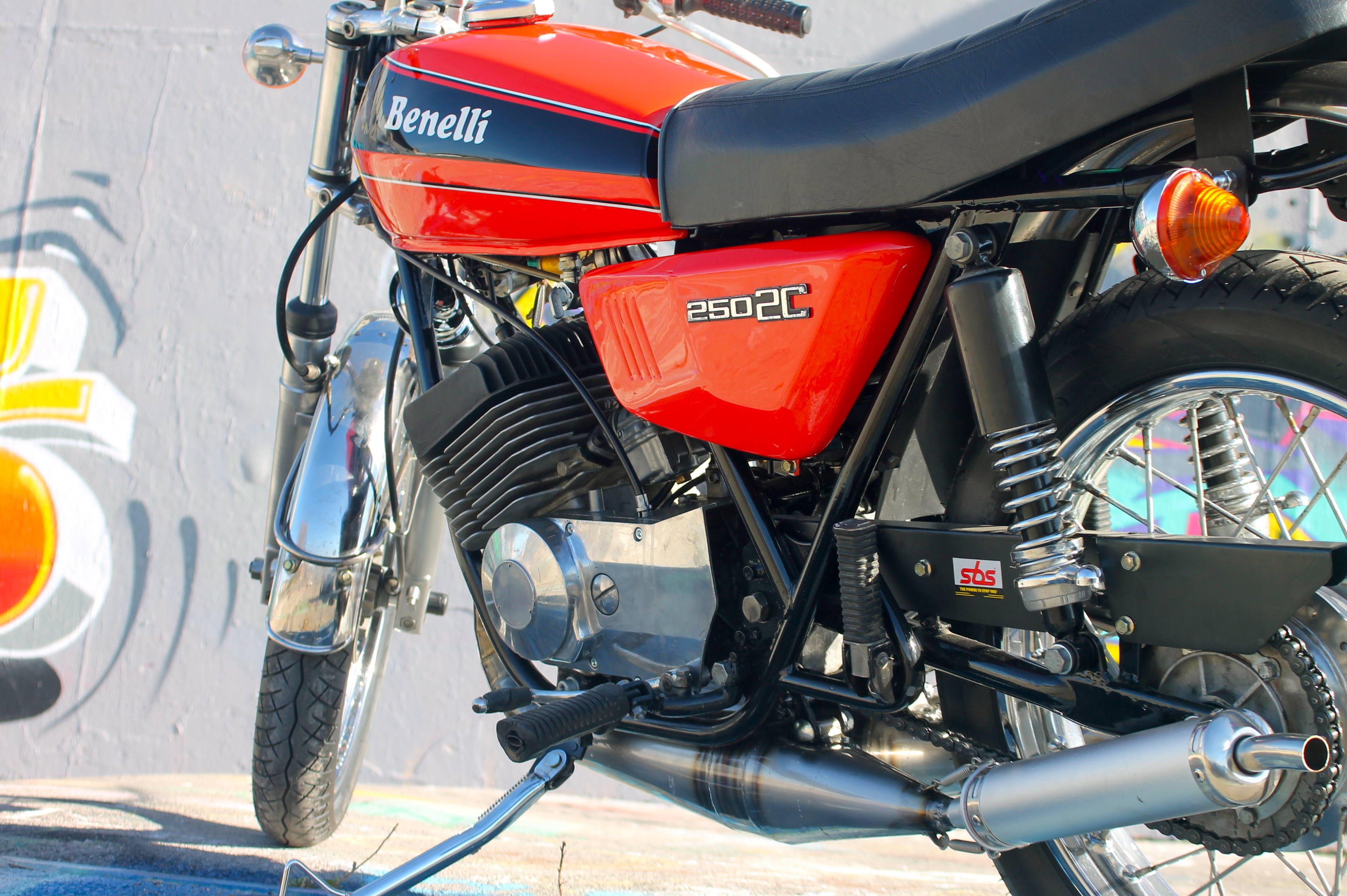 benelli 250 2c | golden age speed shop